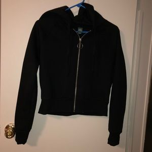 Wild Fable Black hoodie size S with good zippers
